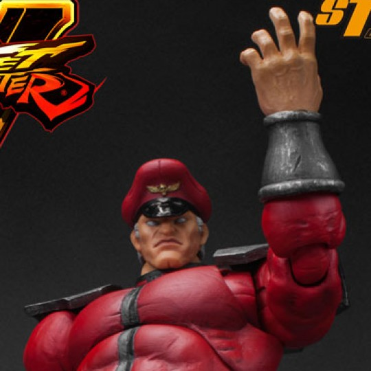 Street Fighter V Action Figure 1/12 M. Bison 18 cm