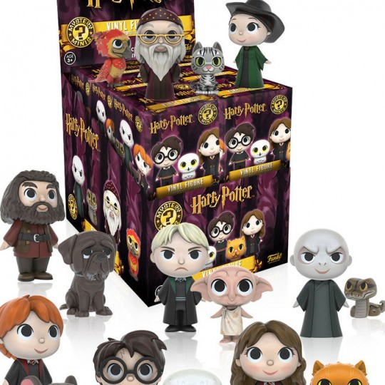 Harry Potter Mystery Mini Figures 6 cm Series 1 Display