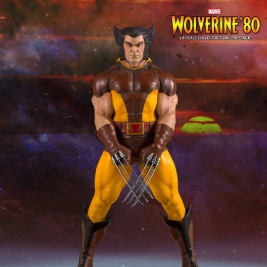 Marvel Comics Collectors Gallery Statue 1/8 Wolverine '80 23 cm