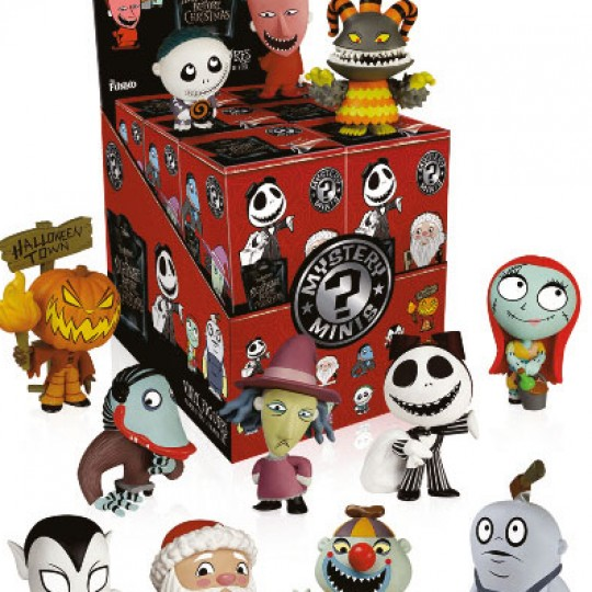 Nightmare Before Christmas Mystery Mini Figures 6 cm Series 2 Display