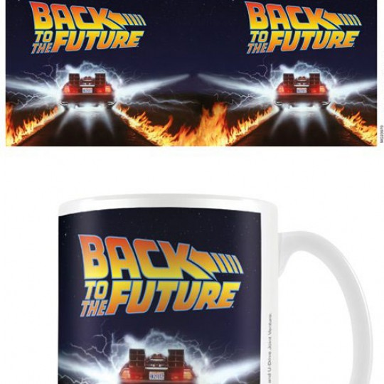 Back to the Future Mug DeLorean