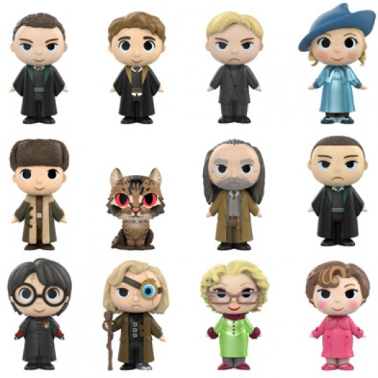 Harry Potter Mystery Minis Figures 5 cm Display Series 3 12 pcs