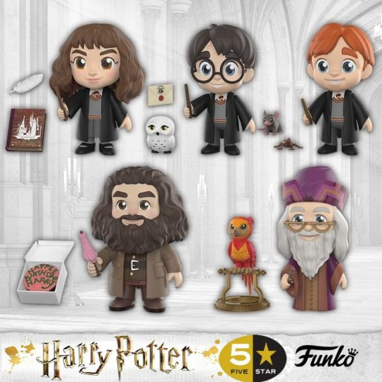 Harry Potter 5-Star Vinyl Figure 8 cm