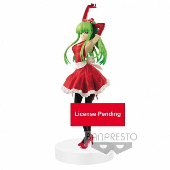 Code Geass Lelouch of the Rebellion EXQ Figure C.C. Apron Style 23 cm