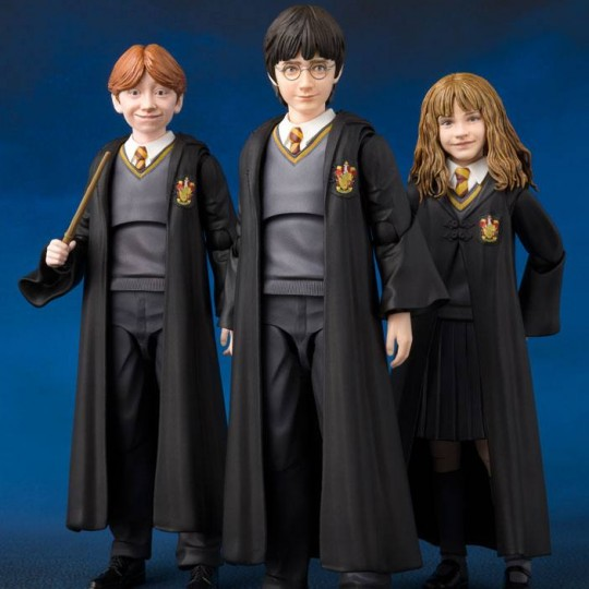 Harry Potter and the Philosopher's Stone S.H. Figuarts Action Figure Harry / Hermione / Ron12 cm