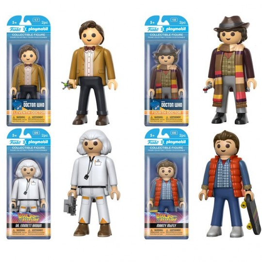 Back to the Future / Doctor Who Funko Funko x Playmobil Vinyl Figure
